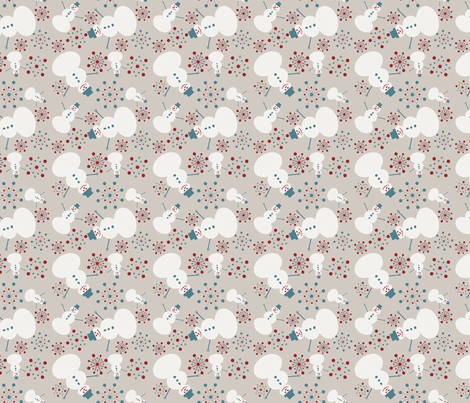 Winter Wonderland fabric by juliapaigedesigns on Spoonflower - custom fabric