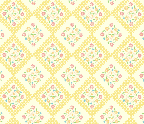 vintage6 fabric by kategabrielle on Spoonflower - custom fabric