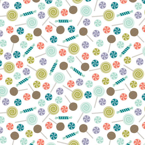 Lollipop fabric by eleasha on Spoonflower - custom fabric