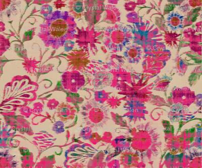 pink_ikat_floral