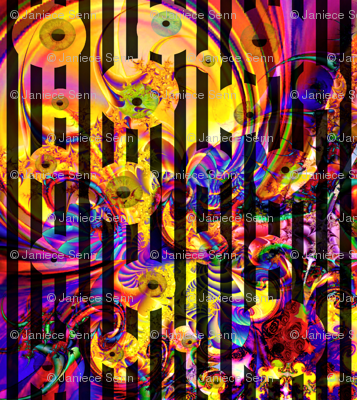 Psychedelic  Eye Swirl