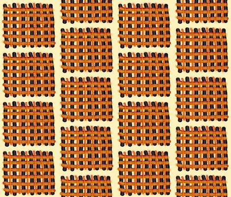 Woven Mats fabric by anniedeb on Spoonflower - custom fabric