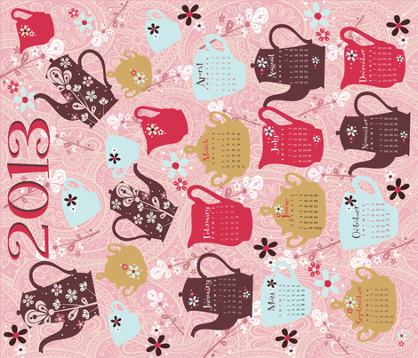 TEA_TOWEL_21x18_ fabric by deeniespoonflower on Spoonflower - custom fabric