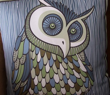 owl cushions