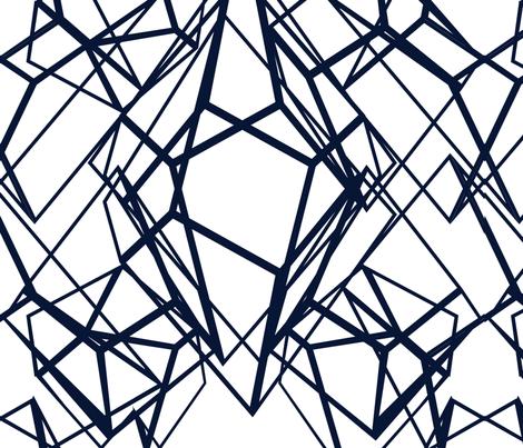 Geo Ornamentals Sketch Large fabric by samossie on Spoonflower - custom fabric