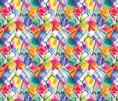 Geo Ornamentals Fun fabric by samossie on Spoonflower - custom fabric