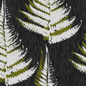Fern Print - eco green
