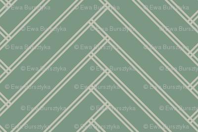 herringbone green grays