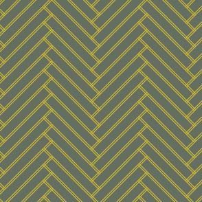 herringbone mustard