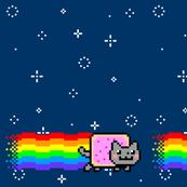 Nyan Cat Re-Pixeled - Basic Layout