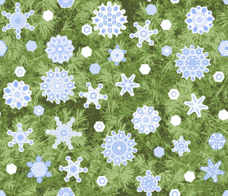 snow_shower_1638503_Pine_2012oilify_BC_VanGoh-ch fabric by khowardquilts on Spoonflower - custom fabric