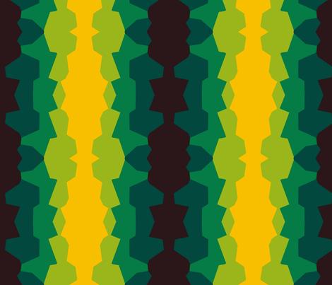 Coral Pillars fabric by herb'n_fresh on Spoonflower - custom fabric