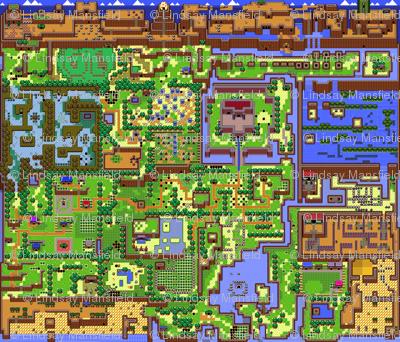 Zelda - Link's Awakening Map