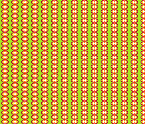 Retro No. 9 (Module 3) fabric by lisulle on Spoonflower - custom fabric