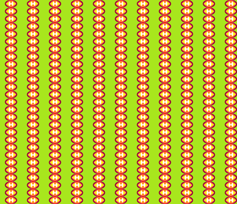 Retro No. 9 (Module 2) fabric by lisulle on Spoonflower - custom fabric