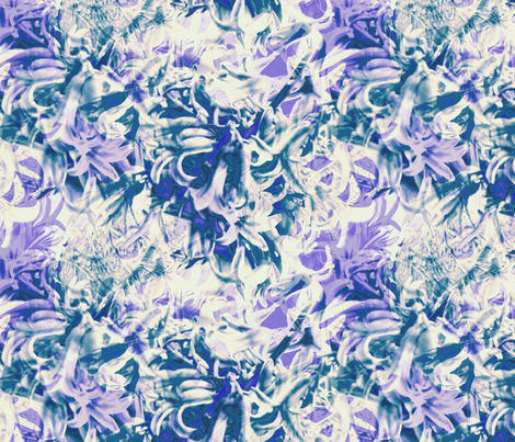 hyacinth bells fabric by wren_leyland on Spoonflower - custom fabric