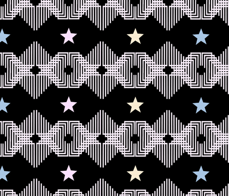 Ethnic fabric by susanou on Spoonflower - custom fabric