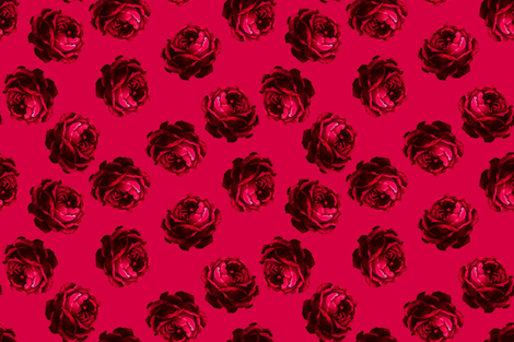 Roses_2_right_side_of_swatch fabric by joanmclemore on Spoonflower - custom fabric