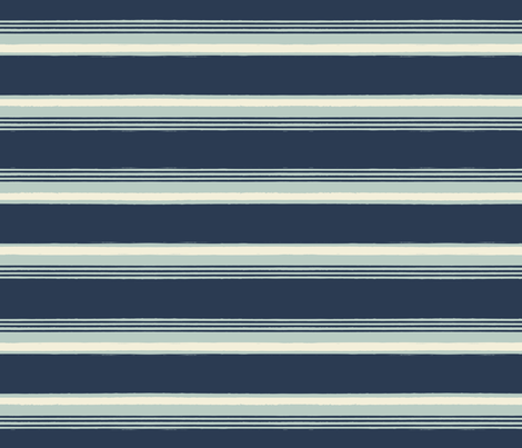 Palmettos_Stripe fabric by cbl on Spoonflower - custom fabric