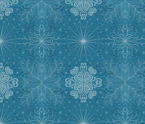 Kayi, Dusk, Medium fabric by katiame on Spoonflower - custom fabric