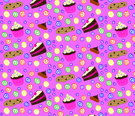 Sweet Treats fabric by gakranz on Spoonflower - custom fabric
