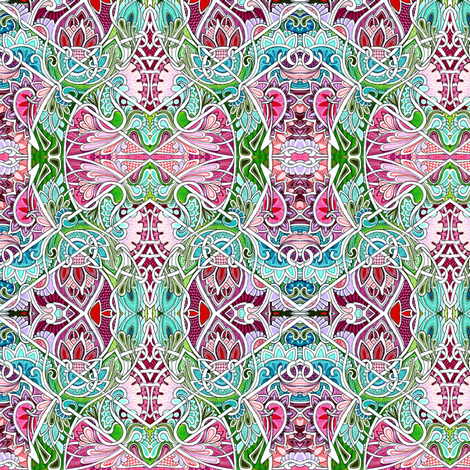 Are You Sure Alice Bit Into This Kind of Mushroom? fabric by edsel2084 on Spoonflower - custom fabric