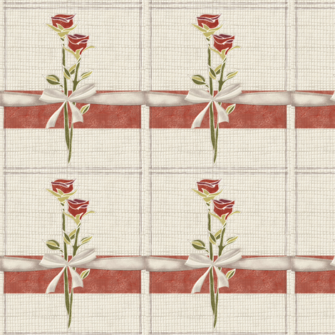 Little love cards fabric by kirpa on Spoonflower - custom fabric