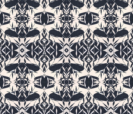 Bamboo Tapa fabric by flyingfish on Spoonflower - custom fabric