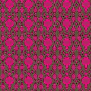 pomegranate, pink, schraegerfuerst