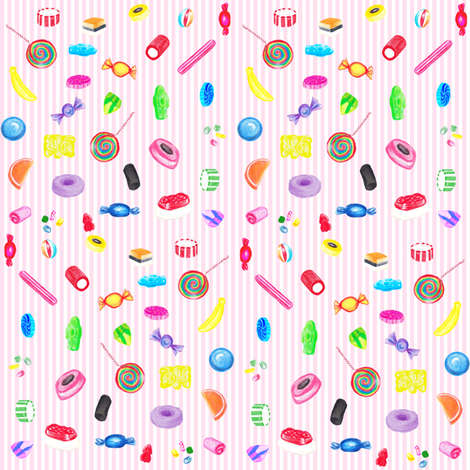 lots_of_lollies fabric by flying_pigs on Spoonflower - custom fabric
