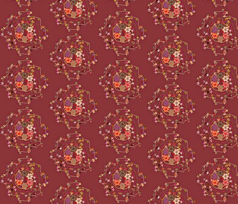 Rdaisy_chain_floral_on_dark_rose_shop_preview