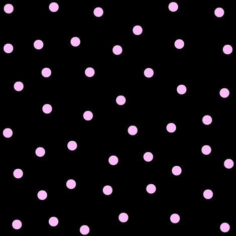 PINK DOODLE DOTS fabric by bluevelvet on Spoonflower - custom fabric
