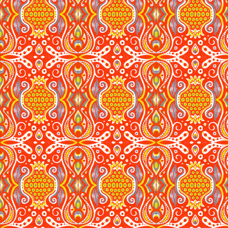 Pomona fabric by siya on Spoonflower - custom fabric