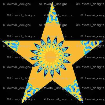 STARS  10 ORNAMENTS