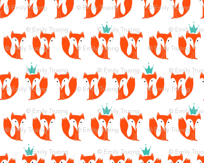 King Fox in Orange