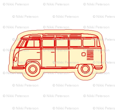 VW_BUS_red vintage