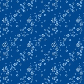 Snowflakes In Blue Small