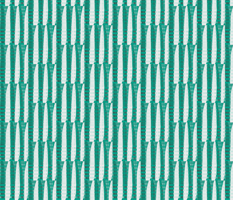 """Emerald City"" fabric by elizabethvitale on Spoonflower - custom fabric"