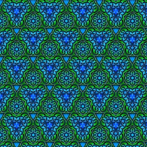 Kaleidoscope Knotwork Ocean