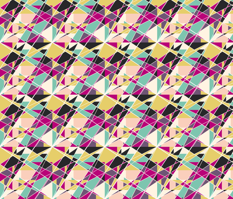 Mosaic fabric by cine on Spoonflower - custom fabric