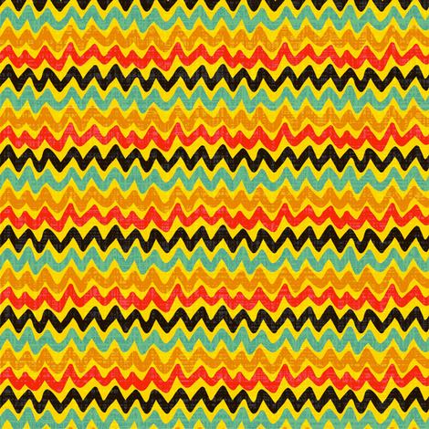 zigzags fabric by kezia on Spoonflower - custom fabric