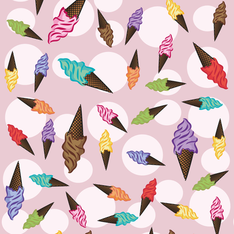 my favorite taste!!! fabric by mehdimashayekhi on Spoonflower - custom fabric