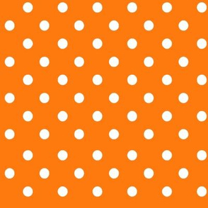 Fall Tango orange dots