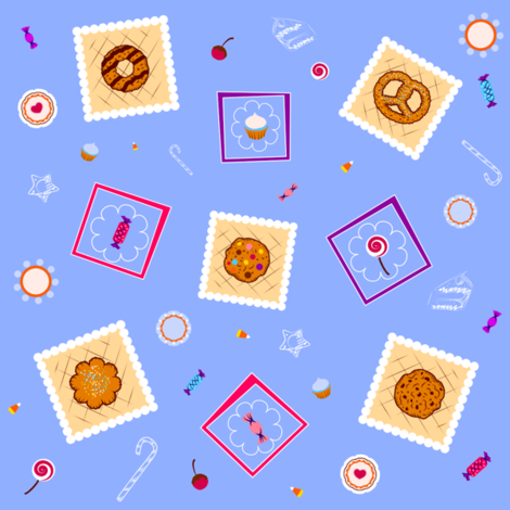 sweet-sweet fabric by jane_leforte on Spoonflower - custom fabric