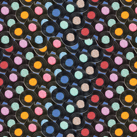 liquorice fabric by kociara on Spoonflower - custom fabric
