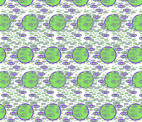 Drip Drop - Lt. Green fabric by yewtree on Spoonflower - custom fabric