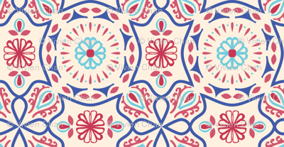 Colorful Vintage Pattern