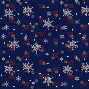 SPACE Snowflakes