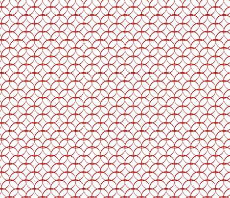 Springtime Trellis fabric by designedtoat on Spoonflower - custom fabric