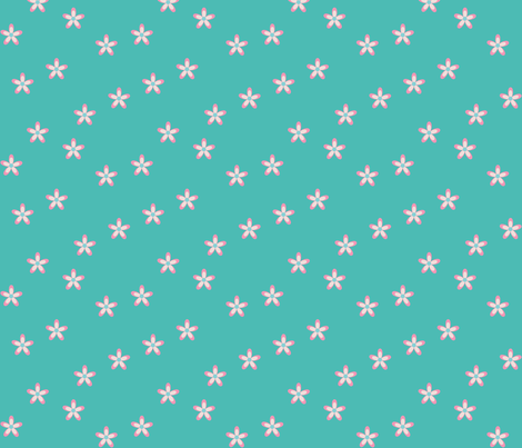 Springtime Daisy fabric by designedtoat on Spoonflower - custom fabric